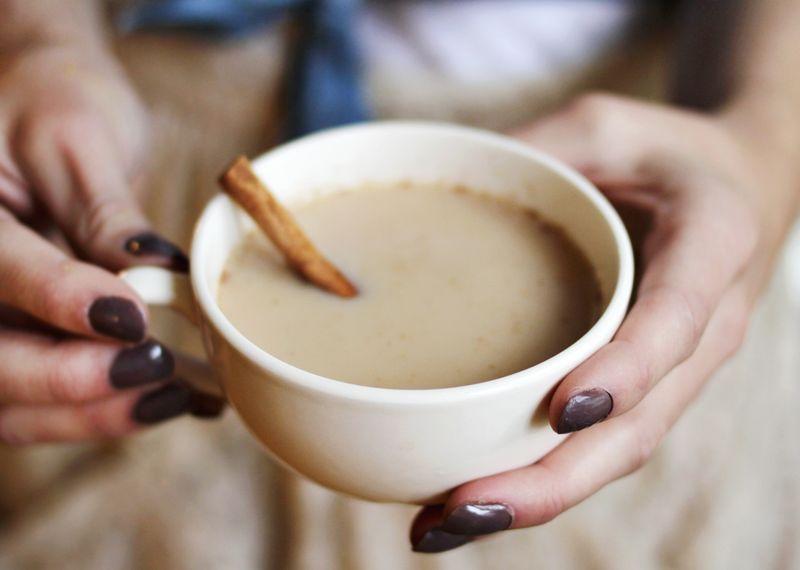 пряный chai latte (abeautifulmess)
