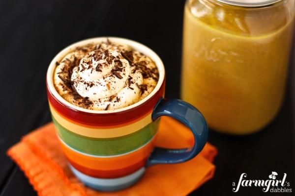 pumpkin spice latte (afarmgirlsdabbles)