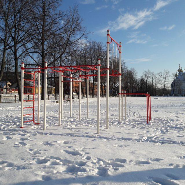 Спортивная площадка Даугавпилс