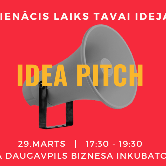 IDEA PITCH